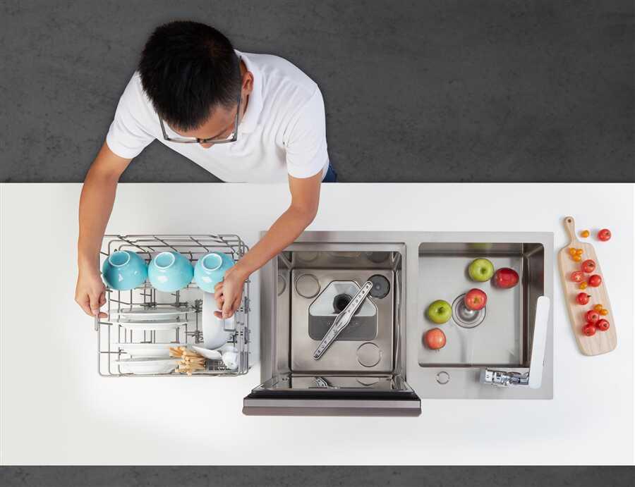 Máy rửa chén Malloca giúp tiết kiệm thời gian