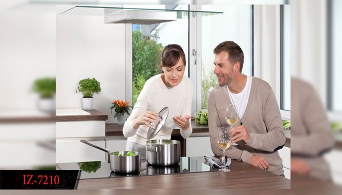 Bếp từ Teka IZ-7210 tạo nét sang trọng và tinh tế cho không gian bếp