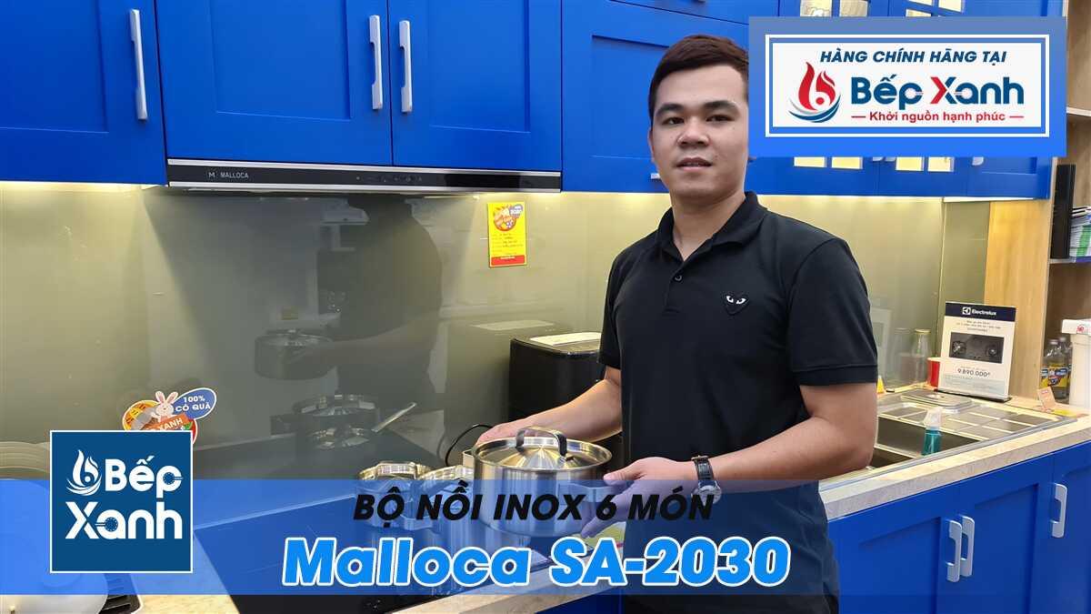 Bộ nồi Malloca SA 2030