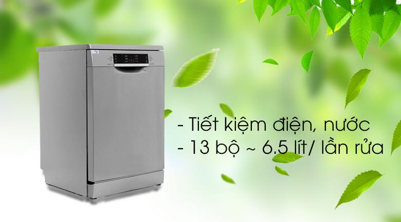 Máy rửa chén Bosch SMS46MI05E 2400W - Tiết kiệm năng lượng