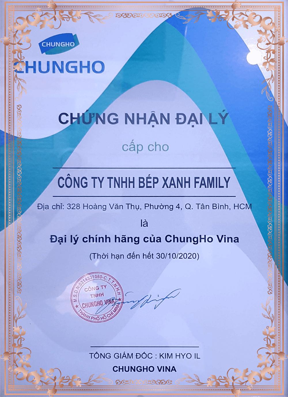 Phân phối Chungho