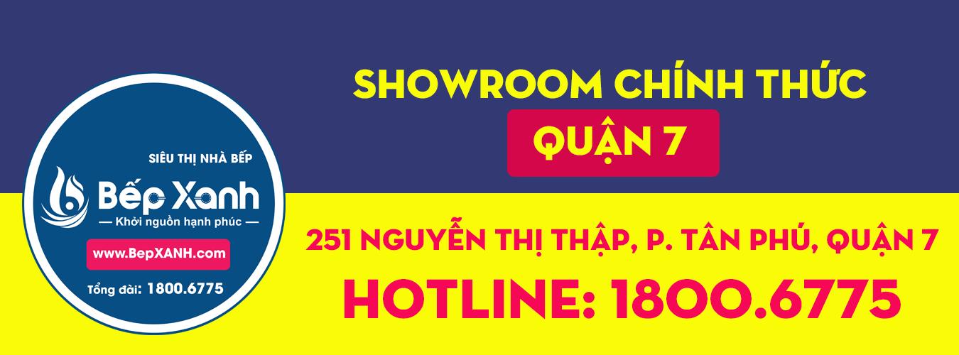 Showroom bếp quận 7