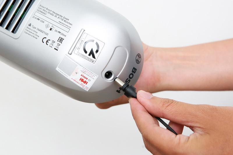 Máy dùng pin sạc - Máy hút bụi cầm tay Bosch HMH.BHN20110