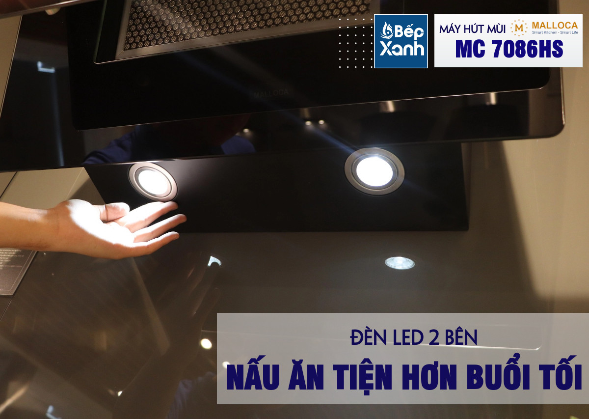 2 đèn chiếu sáng